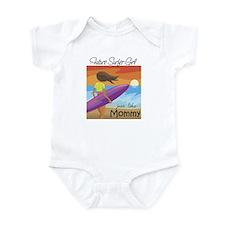 Future Surfer Girl Like Mommy Infant Bodysuit