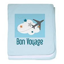 Bon Voyage baby blanket