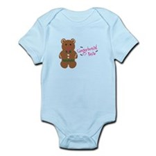 Gingerbread Bear Body Suit