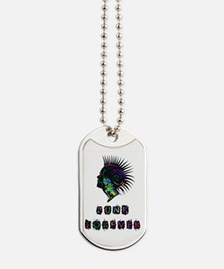 Cute Womens 80s Dog Tags