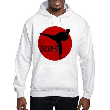 Christopher Martial Arts Hooded Sweatshirt