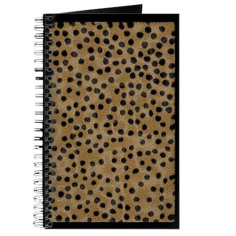 Cheetah Animal Fur Journal