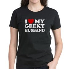 I Love My Geeky Husband Tee