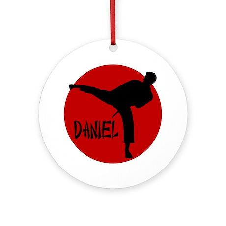 Daniel Martial Arts Ornament (Round)