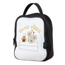 Good Vibes Neoprene Lunch Bag
