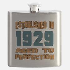 Established In 1929 Flask