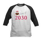 2030 pink owl.png Baseball Jersey
