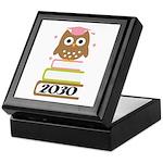 2030 Graduation Class Owl Keepsake Box