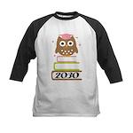 2030 Graduation Class Owl Kids Baseball Jersey