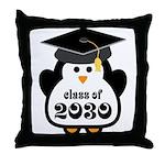 Little Class of 2030 penguin.png Throw Pillow