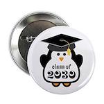 "Little Class of 2030 penguin.png 2.25"" Button (100"
