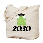 Class Of 2030 Frog Tote Bag