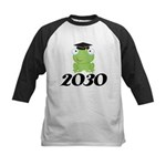 Class Of 2030 Frog Kids Baseball Jersey