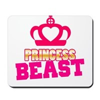 Princess Beast Mousepad