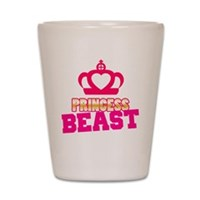 Princess Beast Shot Glass
