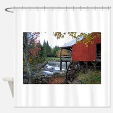 Autumn at the Old MIll Shower Curtain