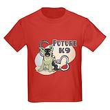 Police k9 Kids T-shirts (Dark)