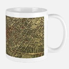 Vintage Map of Atlanta (1892) Mugs