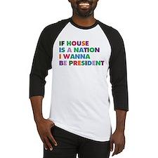 Funny House music Baseball Jersey