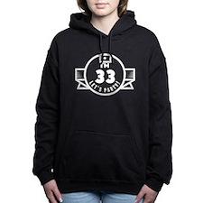 Im 33 Lets Party! Women's Hooded Sweatshirt