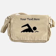 Swimmer Messenger Bag