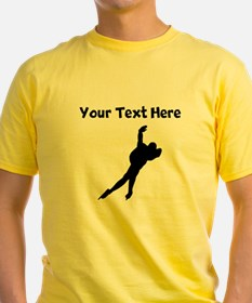 Speed Skater Silhouette T-Shirt