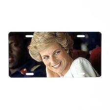HRH Princess Diana Beautifu Aluminum License Plate
