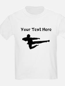 Jump Kick Silhouette T-Shirt