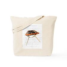 A Hammer Dulcimer Tote Bag