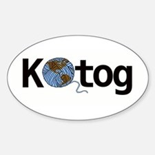 Knit the world together Decal