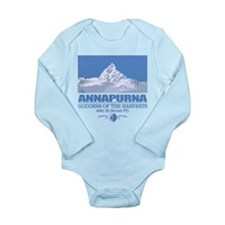 Funny Himalayas Long Sleeve Infant Bodysuit