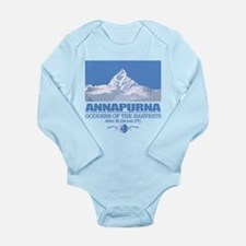 Funny Nepal Long Sleeve Infant Bodysuit