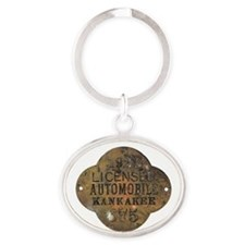 1921 Licensed Automobile Keychains