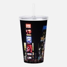 Stunning Times Square Acrylic Double-wall Tumbler