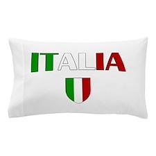 Italia Logo Pillow Case