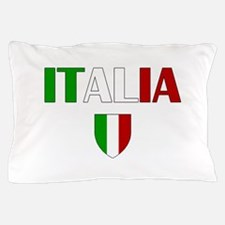 Italia Logo Pillow Case