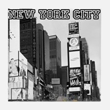 Times Square New York City - Pro phot Tile Coaster