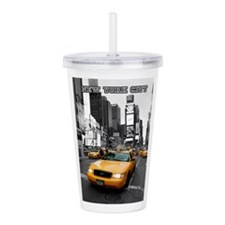 Times Square New York Acrylic Double-wall Tumbler