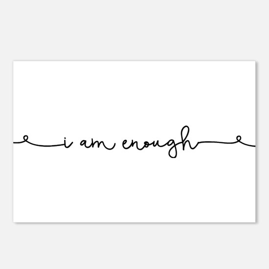 I am Enough Postcards (Package of 8)