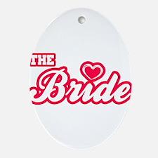 The Bride Oval Ornament
