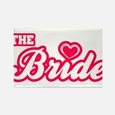 The Bride Rectangle Magnet