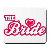 The Bride Mousepad