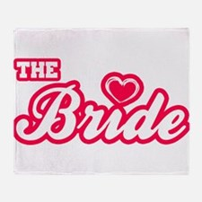 The Bride Throw Blanket