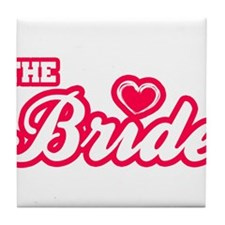 The Bride Tile Coaster