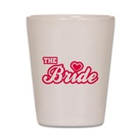 The Bride Shot Glass