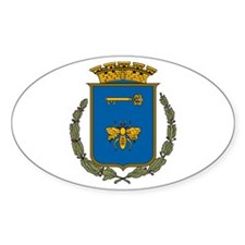 Havana Coat of Arms Oval Decal