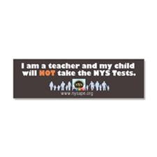 Refuse The Tests Car Magnet 10 X 3