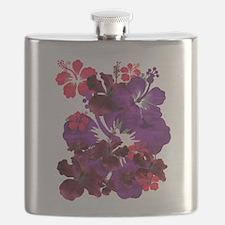 Hibiscus Flask