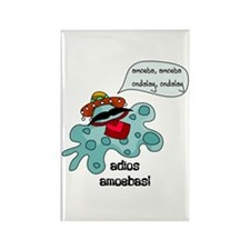 Adios Amoebas Rectangle Magnet (10 pack)