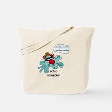 Adios Amoebas Tote Bag
